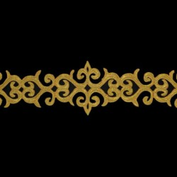 TRIBAL RIBBON CC METALLIC GOLD