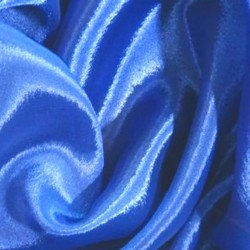 SATIN CHIFFON  EX DIAMOND BLUE