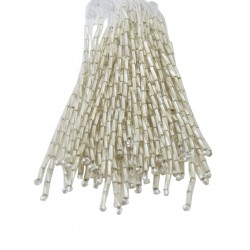 TWISTED BEAD DROPPERS 7MM MOONLIGHT