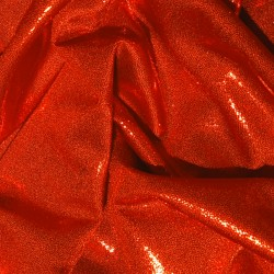 METALLIC LYCRA RED