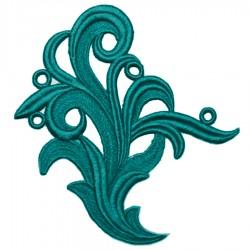 TAMARA GUIPURE BLUE ZIRCON