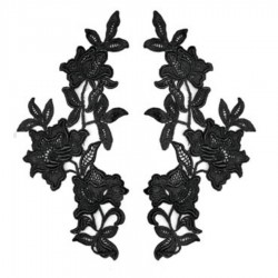 AMOUR MOTIF CC BLACK