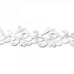 VICTORIA RIBBON CC WHITE