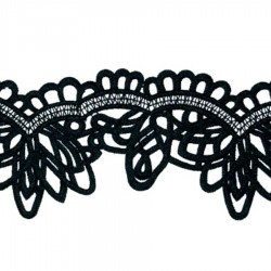 FLORENCE RIBBON CC BLACK