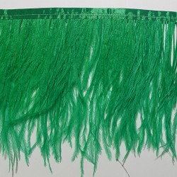 OSTRICH FEATHERS FRINGES 2PLY GRASSER