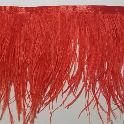 OSTRICH FEATHERS FRINGES 2PLY HOT SUN