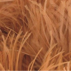 OSTRICH FEATHERS FRINGES 3PLY CC CAPPUCCINO