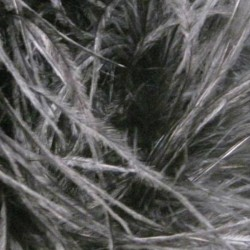 OSTRICH FEATHERS FRINGES 3PLY CC HEMATITE