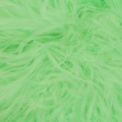 OSTRICH FEATHERS FRINGES 3PLY CC LIGHT MINT