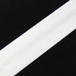 SATIN BINDING WHITE