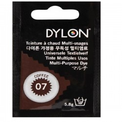 PAINT FOR FABRICS DYLON COFFEE