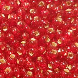 GLASS BEADS 2MM SIAM