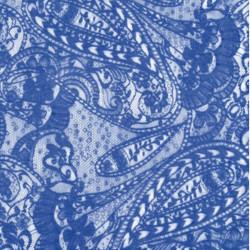 LACE PAISLEY DSI OCEAN BLUE