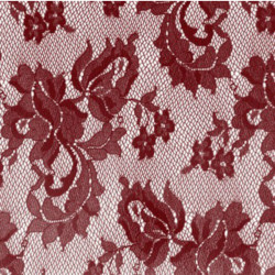 KORONKA SPANISH ROSE DSI BURGUNDY