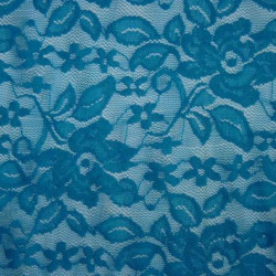 LACE FLORES TURQUOISE