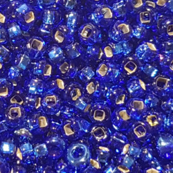 GLASS BEADS 2MM SAPPHIRE AB