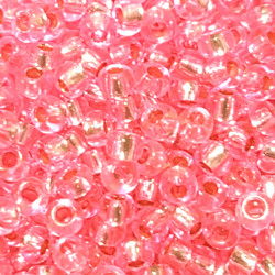 GLASS BEADS 2MM ROSE II