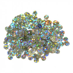 SEQUINS HOLOGRAM SILVER