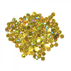 SEQUINS HOLOGRAM CITRINE