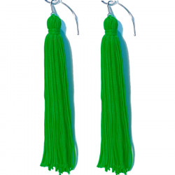 FRINGE EARRINGS TACTEL GRASSER