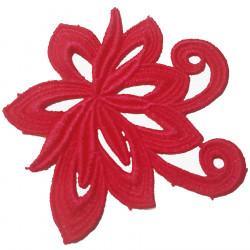 ANASTASIA MOTIF CC FLUORESCENT RED