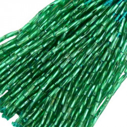 TWISTED BEAD DROPPERS 7MM JADE