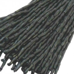 TWISTED BEAD DROPPERS 7MM JET