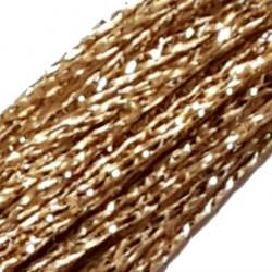 FRINGE METALLIC GOLDEN SHADOW