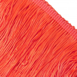 FRINGE STRETCH FLUORESCENT RED 15