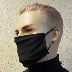 MASK FROM LYCRA BLACK