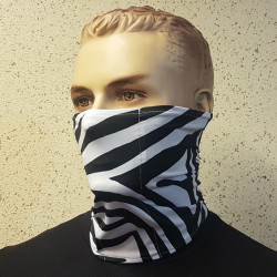 MASK CHIMNEY FROM LYCRA ZEBRA