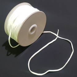 ELASTIC RUBBER WHITE