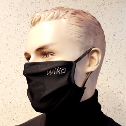 MASK FROM LYCRA BLACK WIKA