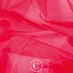 ORGANZA CC FLUORESCENT RED