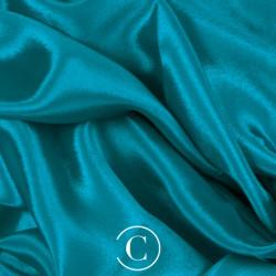 SATIN CHIFFON CC BLUE ZIRCON