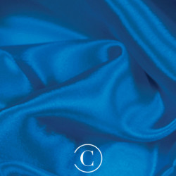 SATIN CHIFFON CC ELECTRIC BLUE