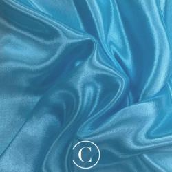 SATIN CHIFFON CC ICE BLUE
