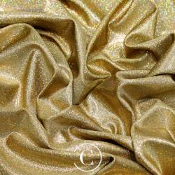 HOLOGRAM LYCRA GOLD ON GOLD