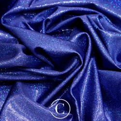 HOLOGRAM LYCRA BLUE ON BLUE