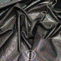 HOLOGRAM LYCRA BLACK ON BLACK