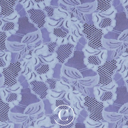 LACE FLORAL CASCADE CC BLUEBELL