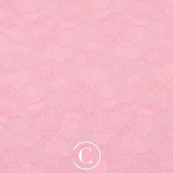LACE FLORAL CASCADE CC SUGAR PINK
