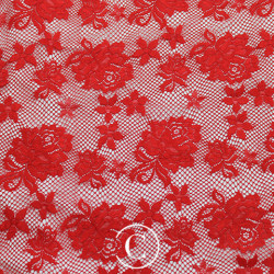 LACE ROSE CC RED