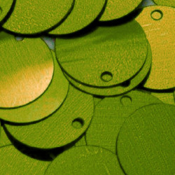 ONE COLOR SEQUINS LIME 20MM