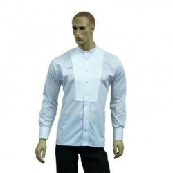 NON STRETCH SHIRT WHITE
